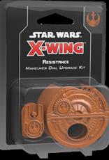 Fantasy Flight Star Wars X-Wing 2.0 Miniatures Game: Resistance Maneuver Dial Upgrade Kit