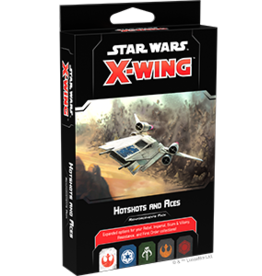 FFG Star Wars X-Wing 2.0: Hotshots and Aces Reinforcements Pack