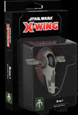 Fantasy Flight Star Wars X-Wing 2.0 Miniatures Game: Slave 1 Expansion Pack