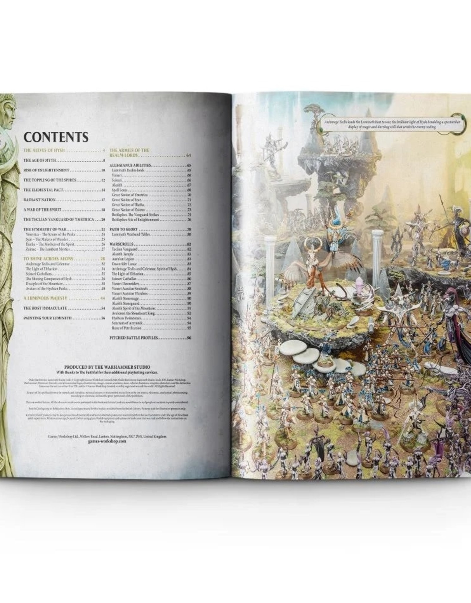 Games Workshop Age of Sigmar: Battletome LuminethRealm-Lords