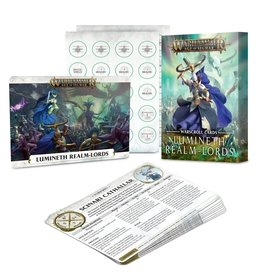 Games Workshop Age of Sigmar: Lumineth Realm-Lords Warscroll Cards