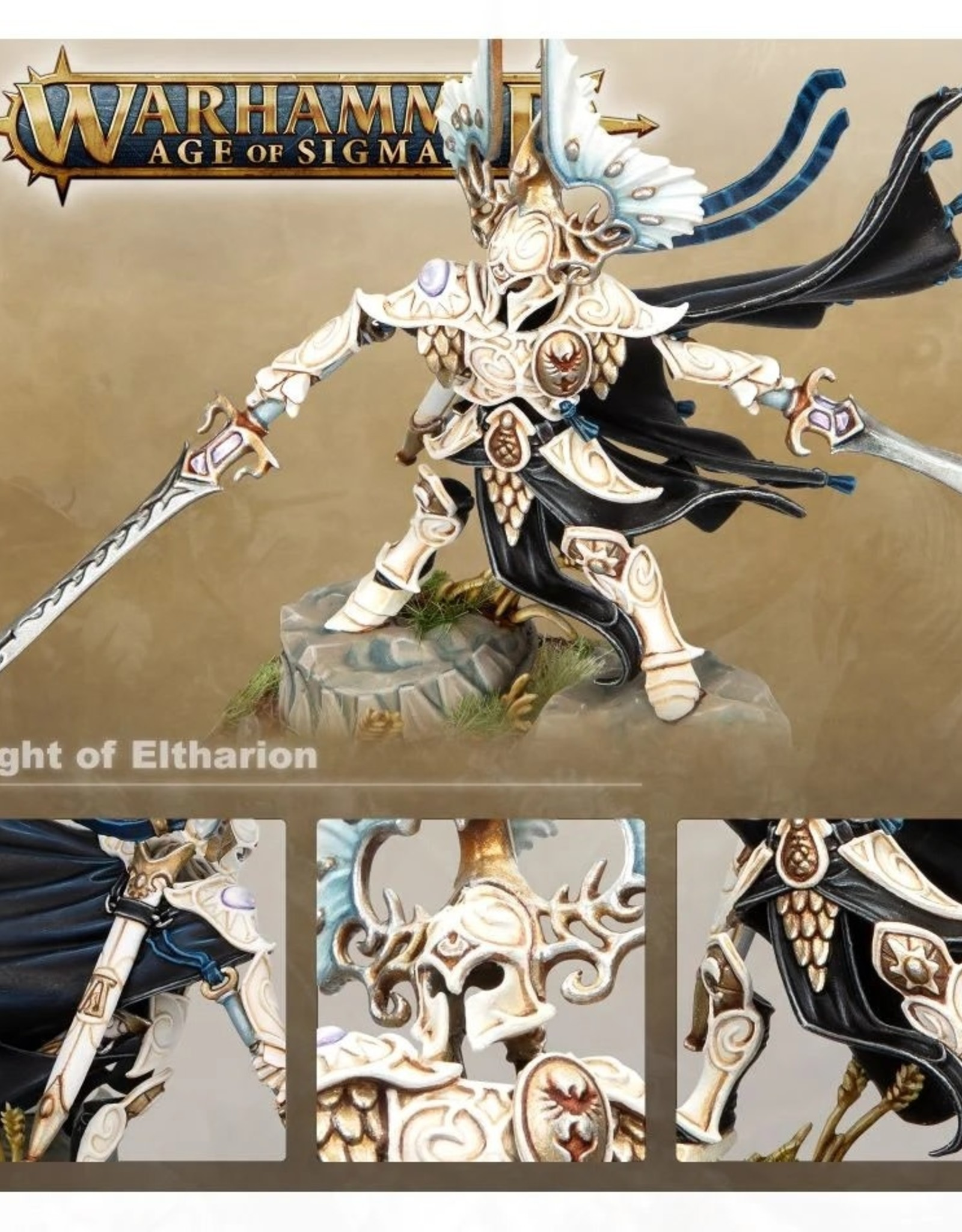 Games Workshop Age of Sigmar: The Light of Eltharion