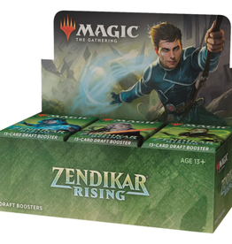 WOTC Zendikar Rising Draft Booster Box