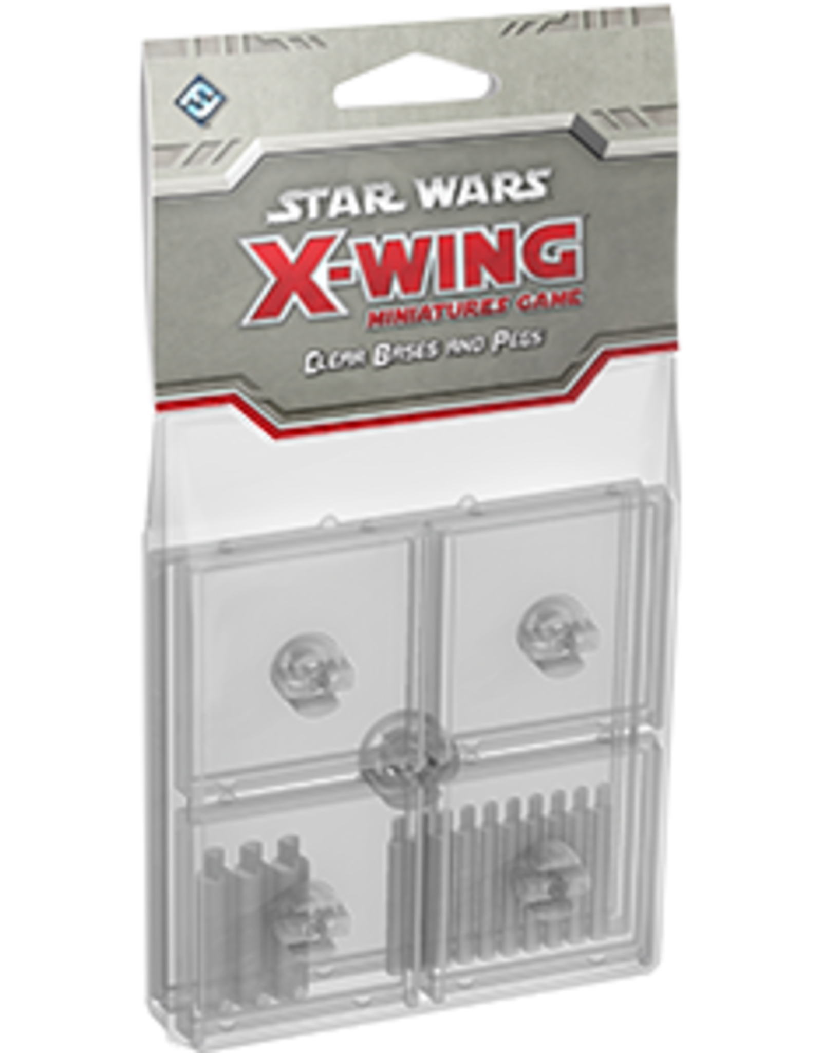 FFG Star Wars X-Wing Miniatures Game: Clear Bases Kit