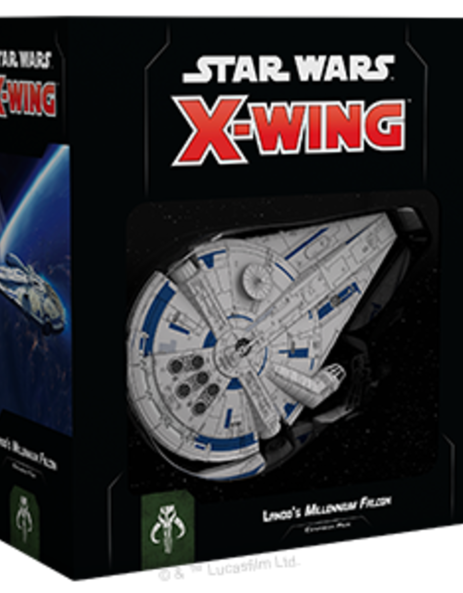 FFG Star Wars X-Wing 2.0: Lando's Millennium Falcon Expansion 2.0 Pack