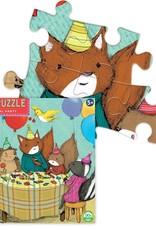 Eeboo Animal Party 64 Pc Puzzle