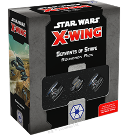 FFG Star Wars X-Wing 2.0: Servants of Strife Squadron Pack