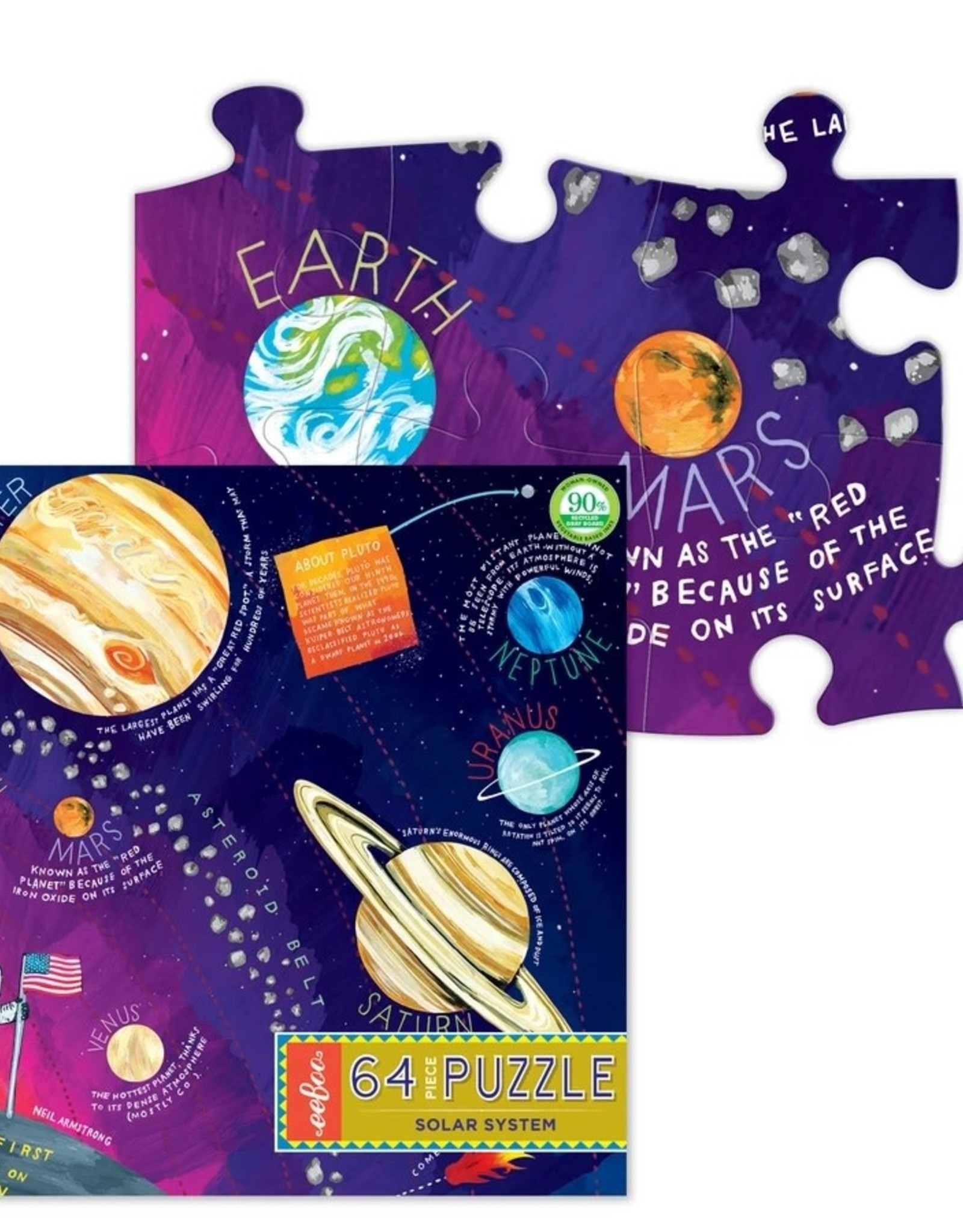 Eeboo Solar System 64 Piece Puzzle