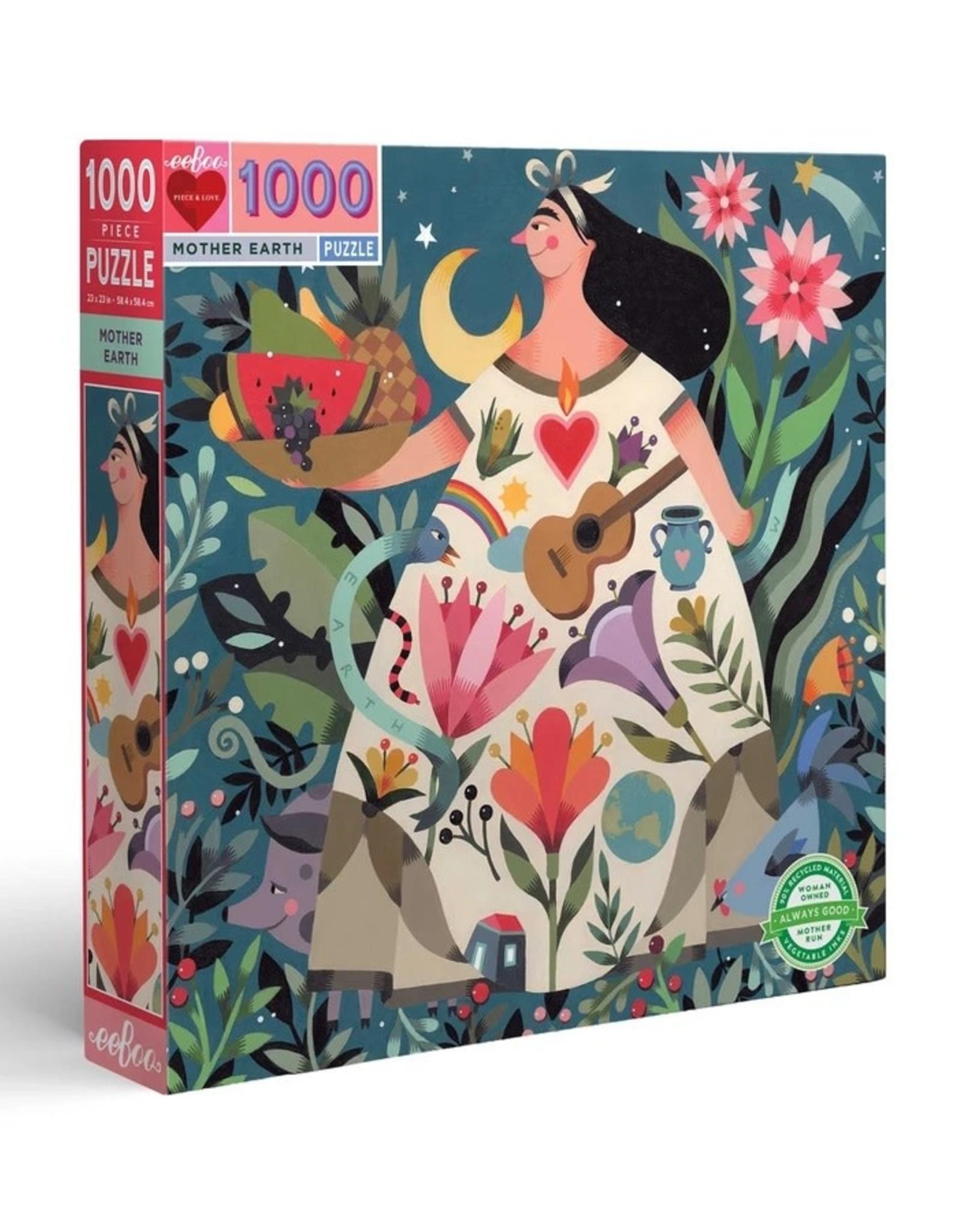 Eeboo Mother Earth 1000 Piece Puzzle
