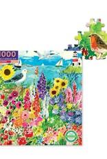 Eeboo Seagull Garden 1000 Piece Puzzle