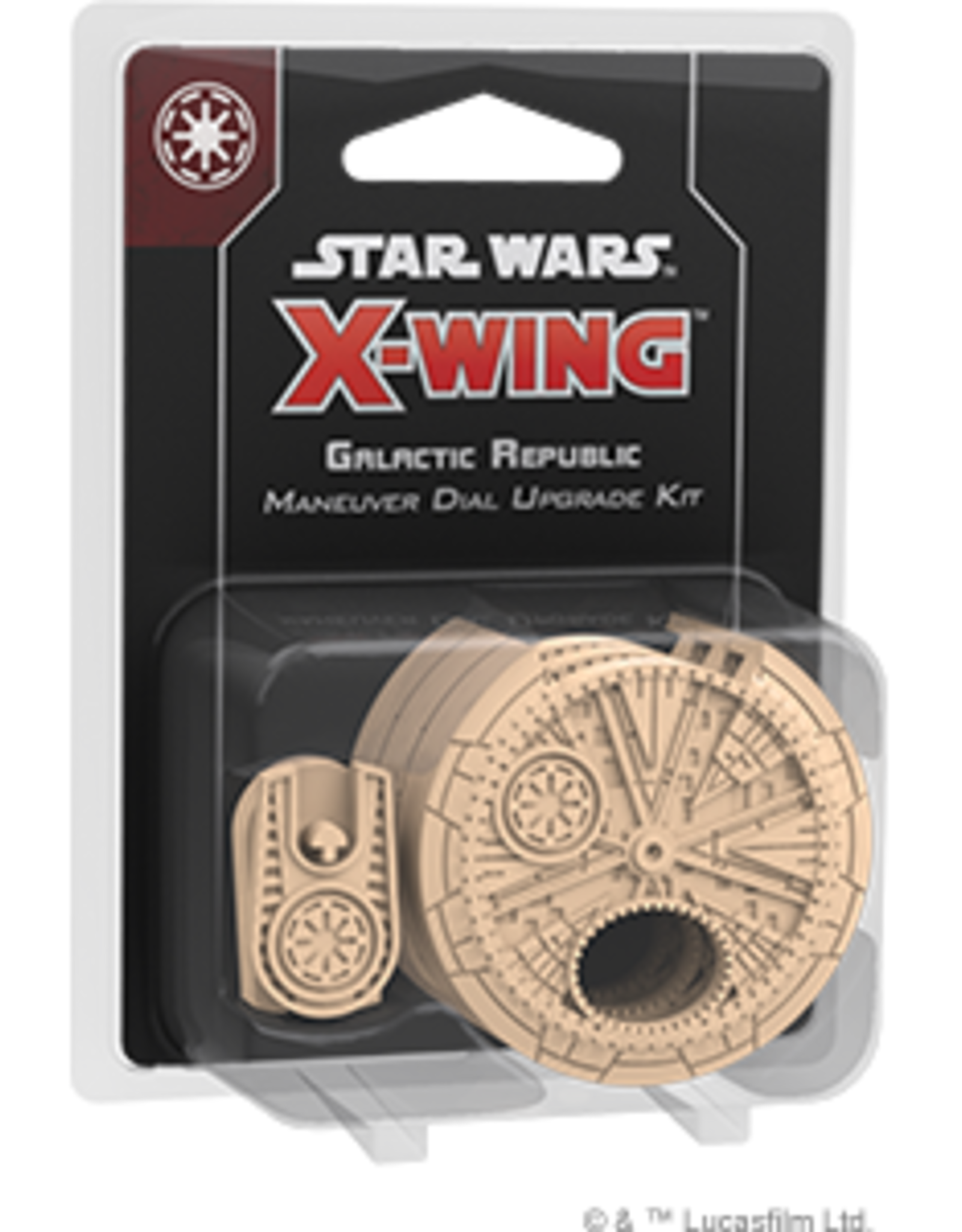 FFG Star Wars X-Wing 2.0: Galactic Republic Maneuver Dial Upgrade Kit