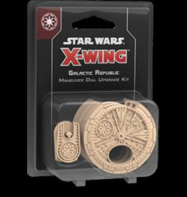 Fantasy Flight Star Wars X-Wing 2.0 Miniatures Game: Galactic Republic Maneuver Dial Upgrade Kit