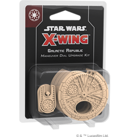 FFG Star Wars X-Wing 2.0: Galactic Republic Maneuver Dial Upgrade Kit