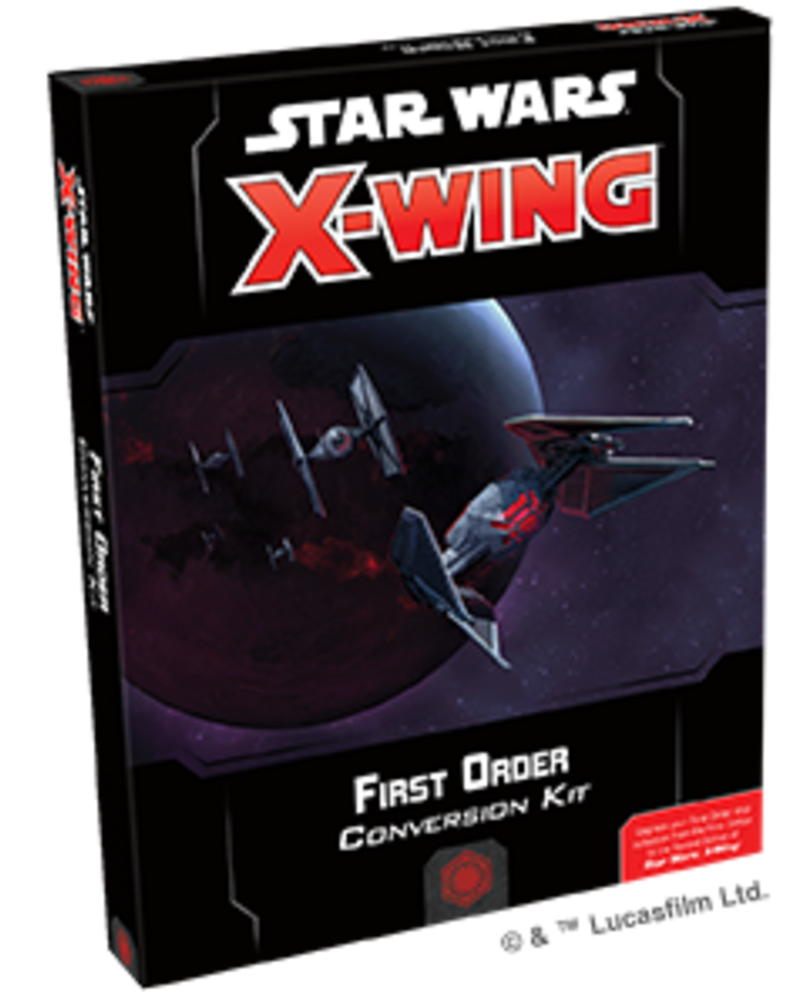 Fantasy Flight Star Wars X-Wing 2.0 Miniatures Game: First Order Conversion Kit