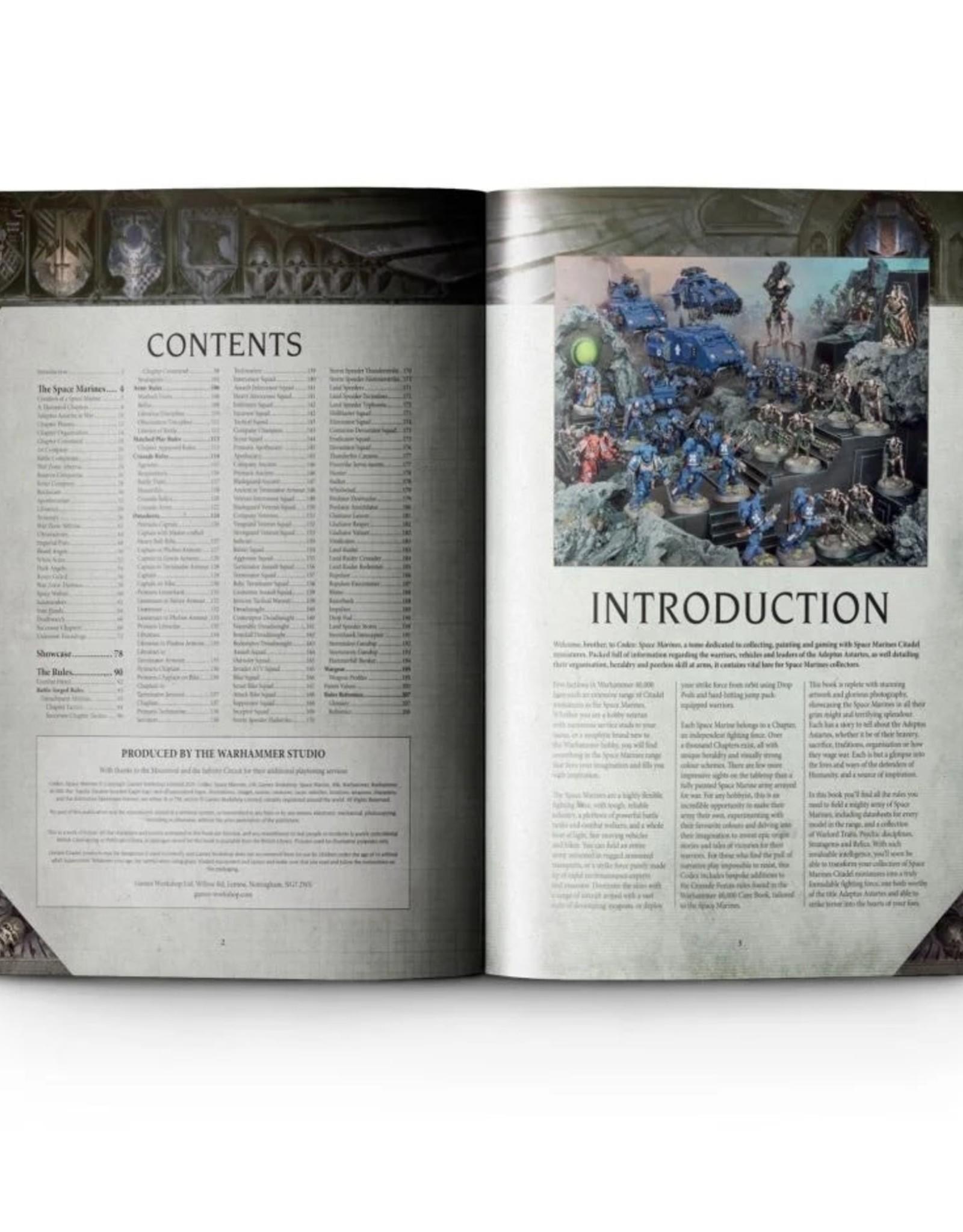 Games Workshop Warhammer 40K: Codex: Space Marines (HB)