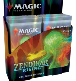 WOTC Zendikar Rising Collector Display (12 packs)