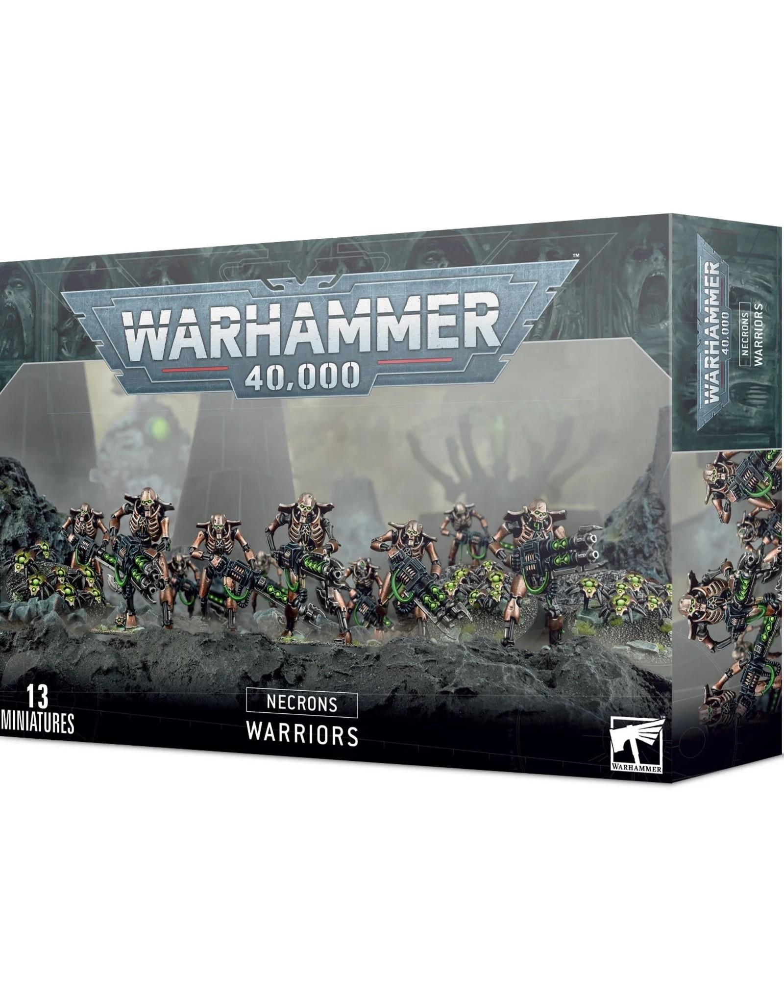 Games Workshop Warhammer 40K: NECRONS NECRON WARRIORS