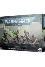 Games Workshop Warhammer 40K: NECRONS SKORPEKH DESTROYERS
