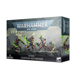 Games Workshop Warhammer 40K: NECRONS SKORPEKH DESTROYERS