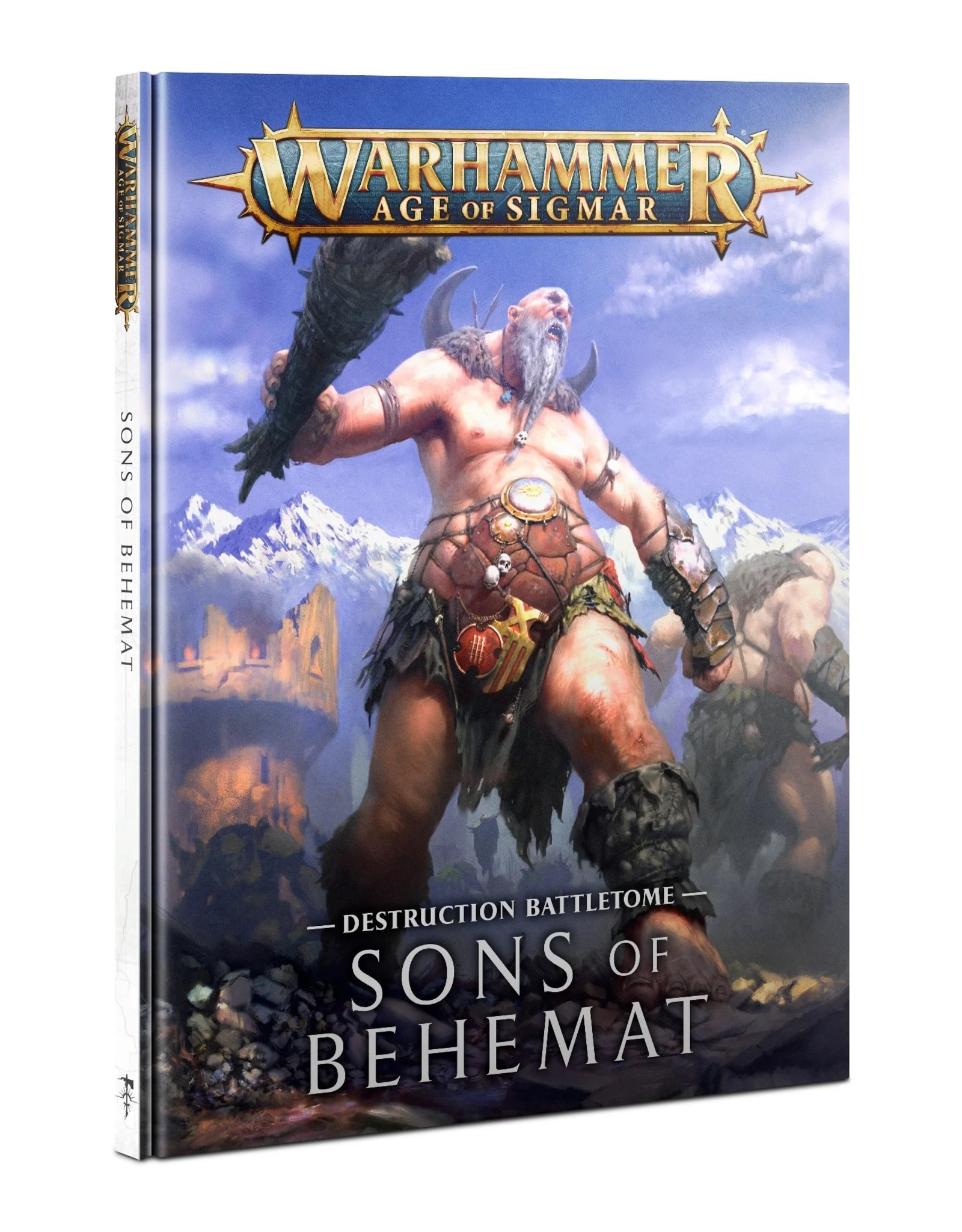 Games Workshop Warhammer AoS: BATTLETOME: SONS OF BEHEMAT (HB)