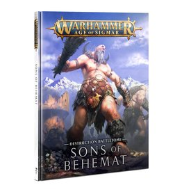 Games Workshop Warhammer AoS: BATTLETOME: SONS OF BEHEMAT (HB)