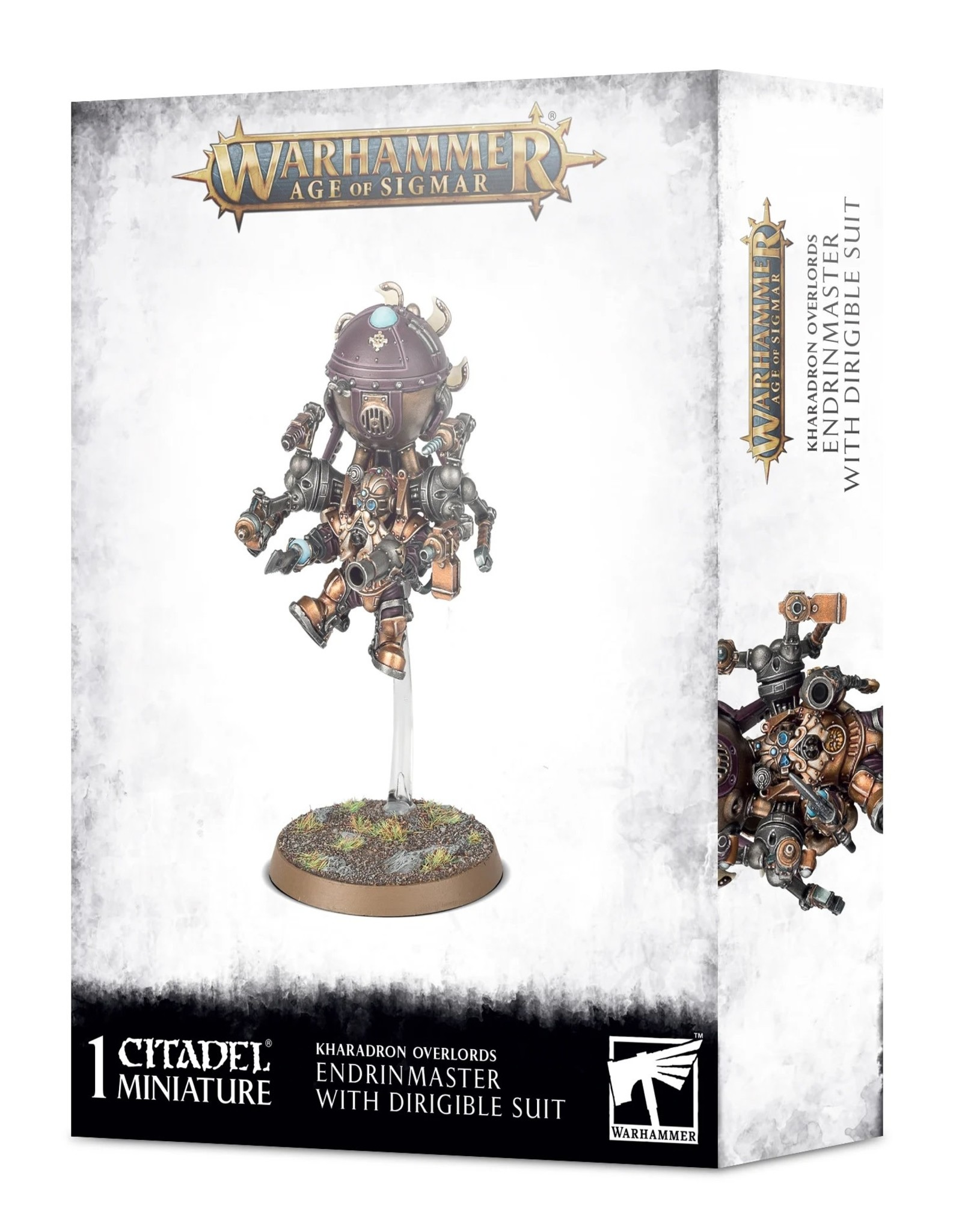 Games Workshop Warhammer AoS: KHARADRON ENDRINMASTER IN DIRIGIBLE SUIT