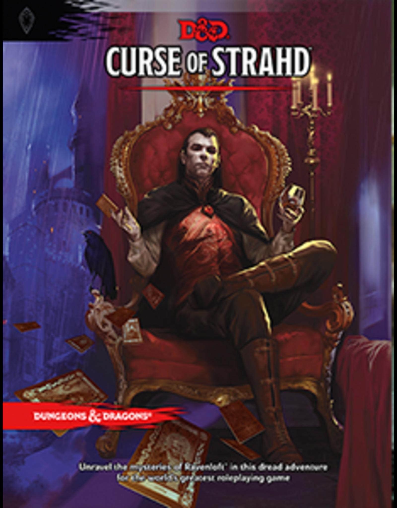 WOTC Dungeons & Dragons RPG: Curse of Strahd