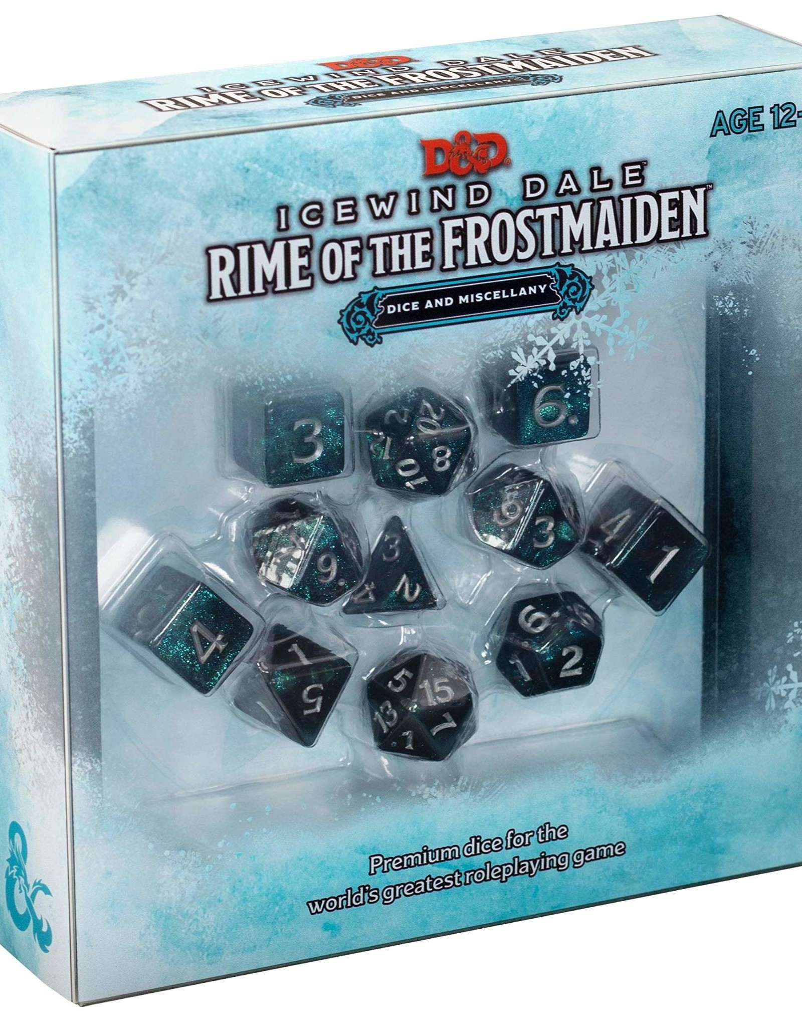 WOTC D & D RPG: Icewind Dale - Rime of the Frostmaiden Dice Set