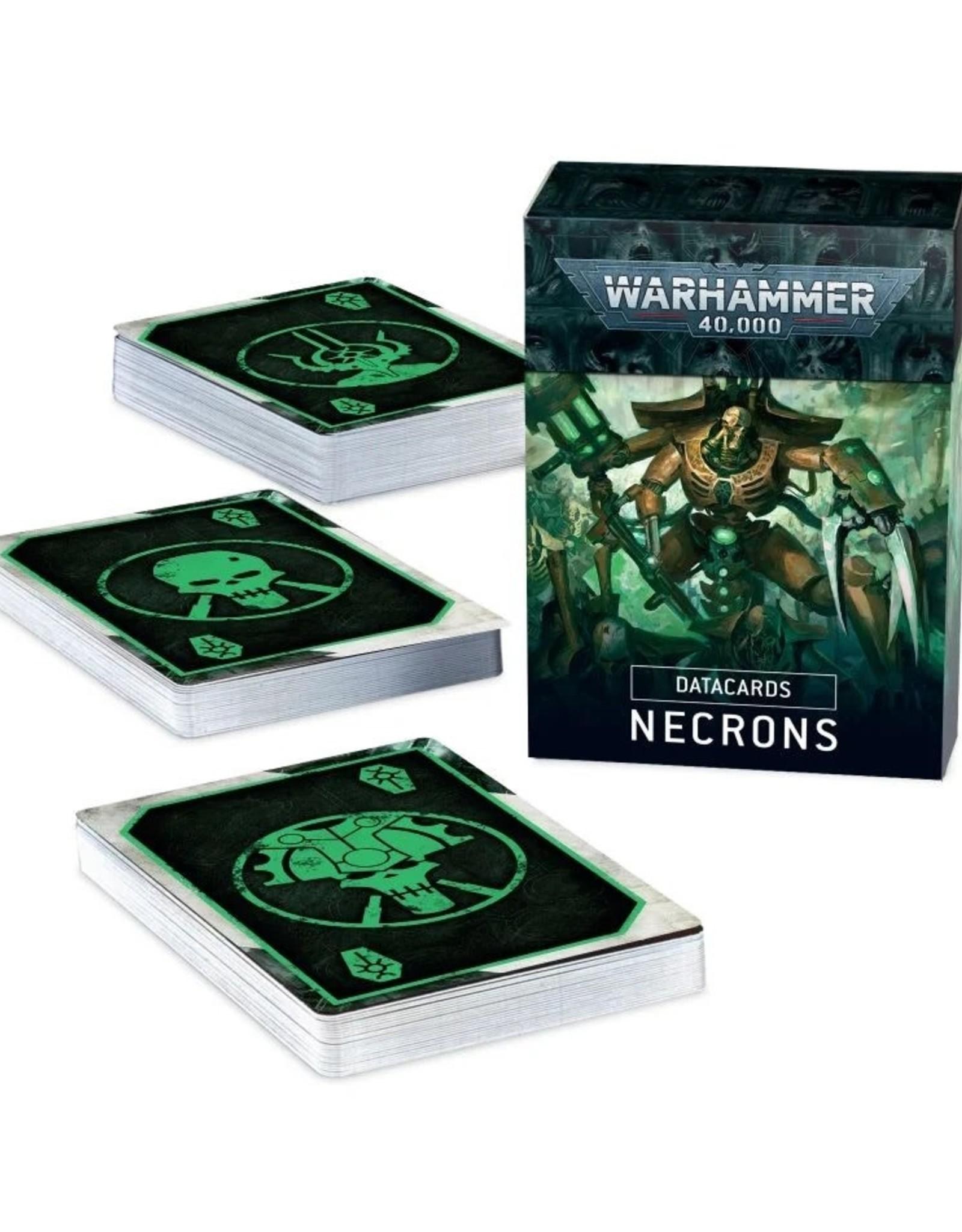 Games Workshop Warhammer 40k: DATACARDS: NECRONS