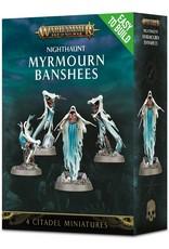 Games Workshop Warhammer AoS: Easy to Build Nighthaunt Myrmourn Banshees