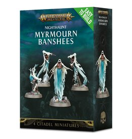 Games Workshop Warhammer AoS: Easy to Build Nighthaunt Myrmourn Banshees