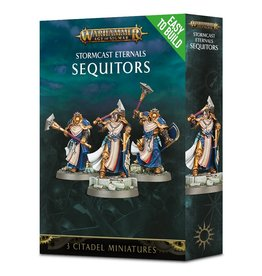 Games Workshop Warhammer AoS: Easy to Build Stormcast Eternals Sequitors