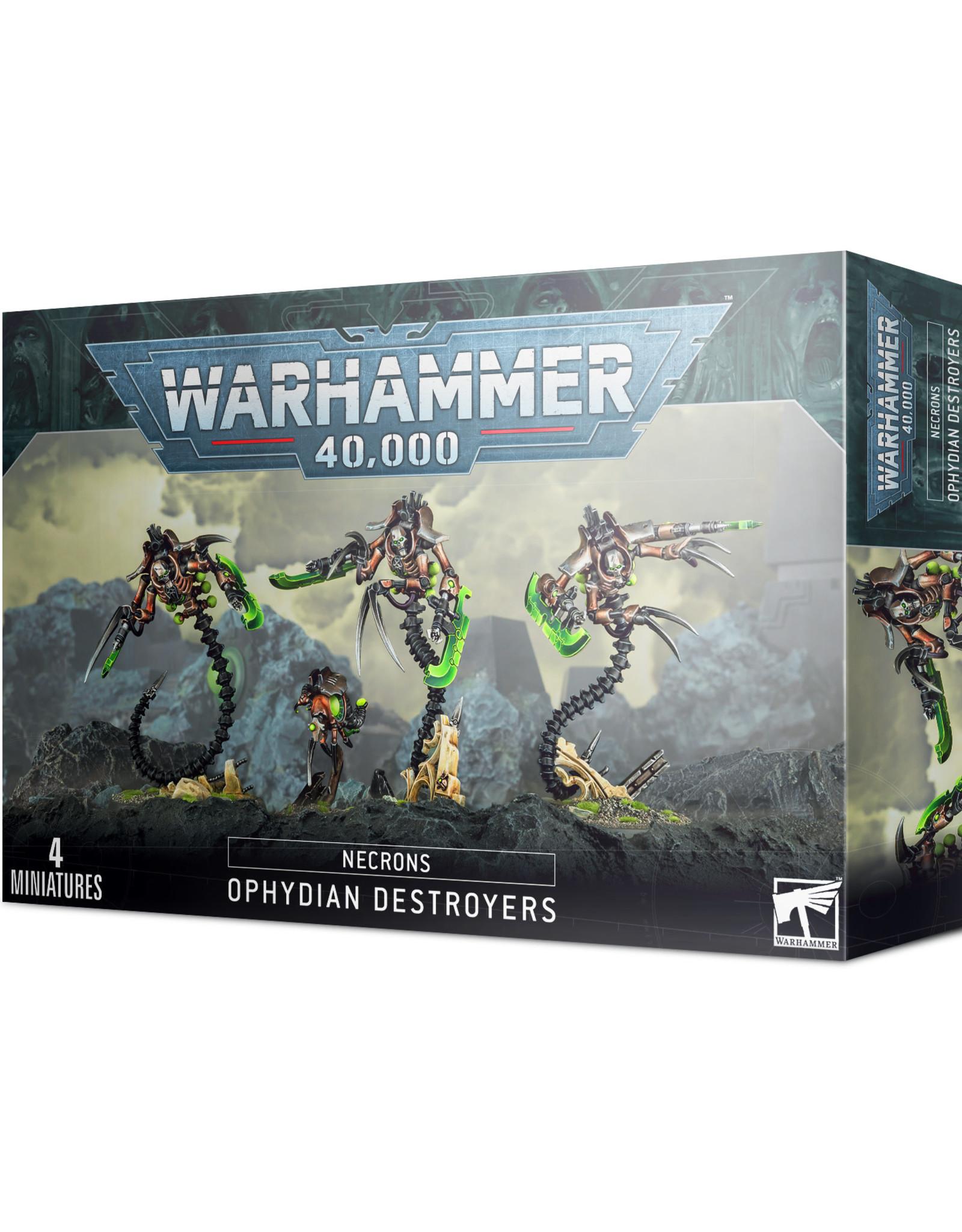 Games Workshop Warhammer 40K: NECRONS OPHYDIAN DESTROYERS