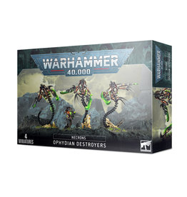 Games Workshop Warhammer 40K: NECRONS OPHYDIAN DESTROYERS