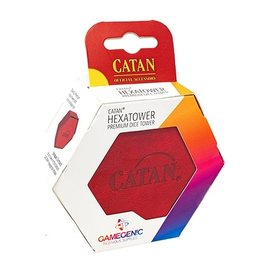 Gamegenic Catan Hexatower-Red