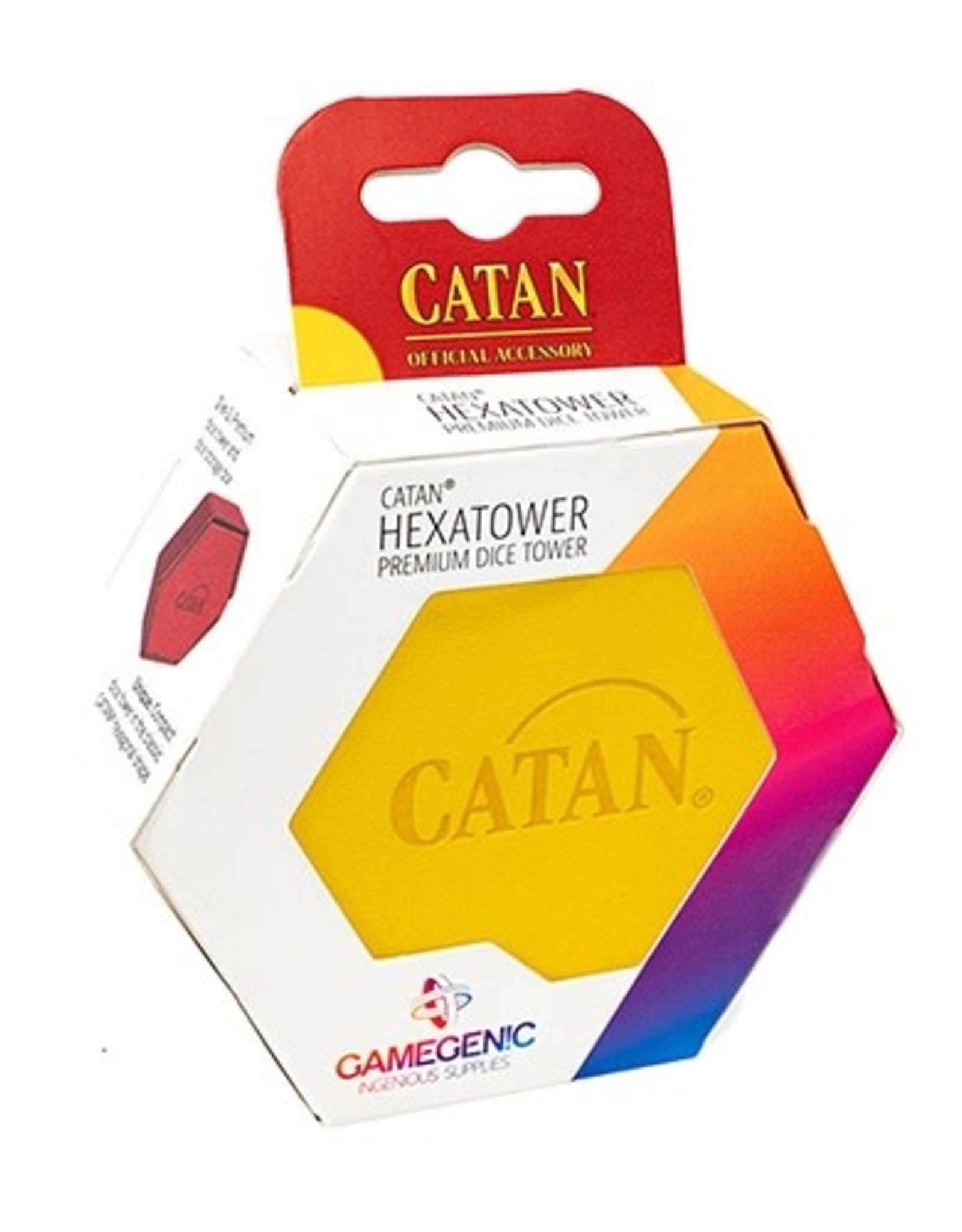 Gamegenic Catan Hexatower-Yellow