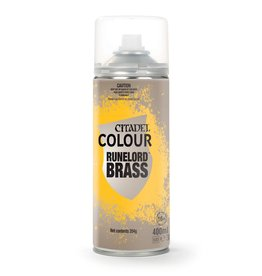 Games Workshop Citadel Spray: Primer Runelord Brass