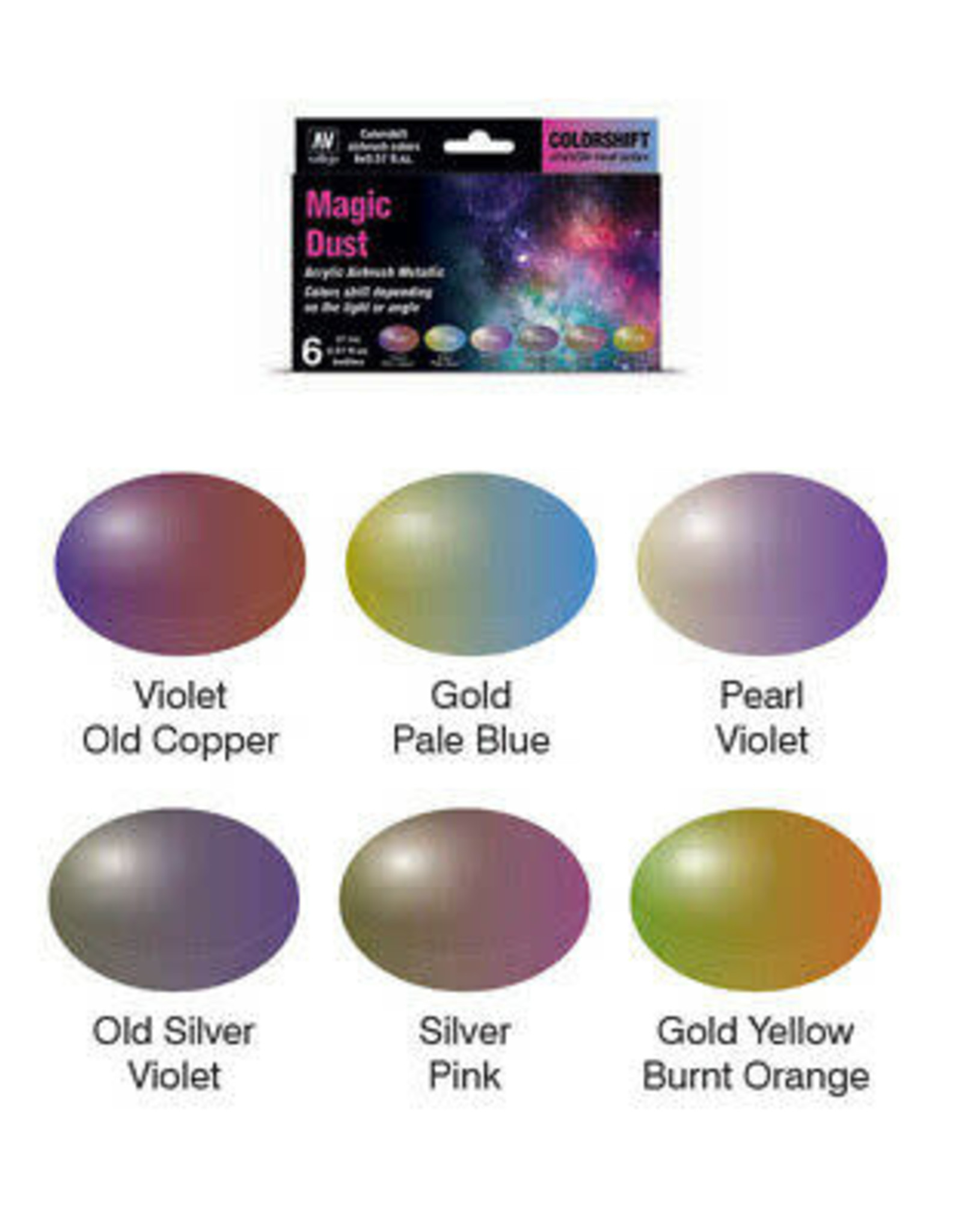 Vallejo The Shifters: Magic Dust Paint Set