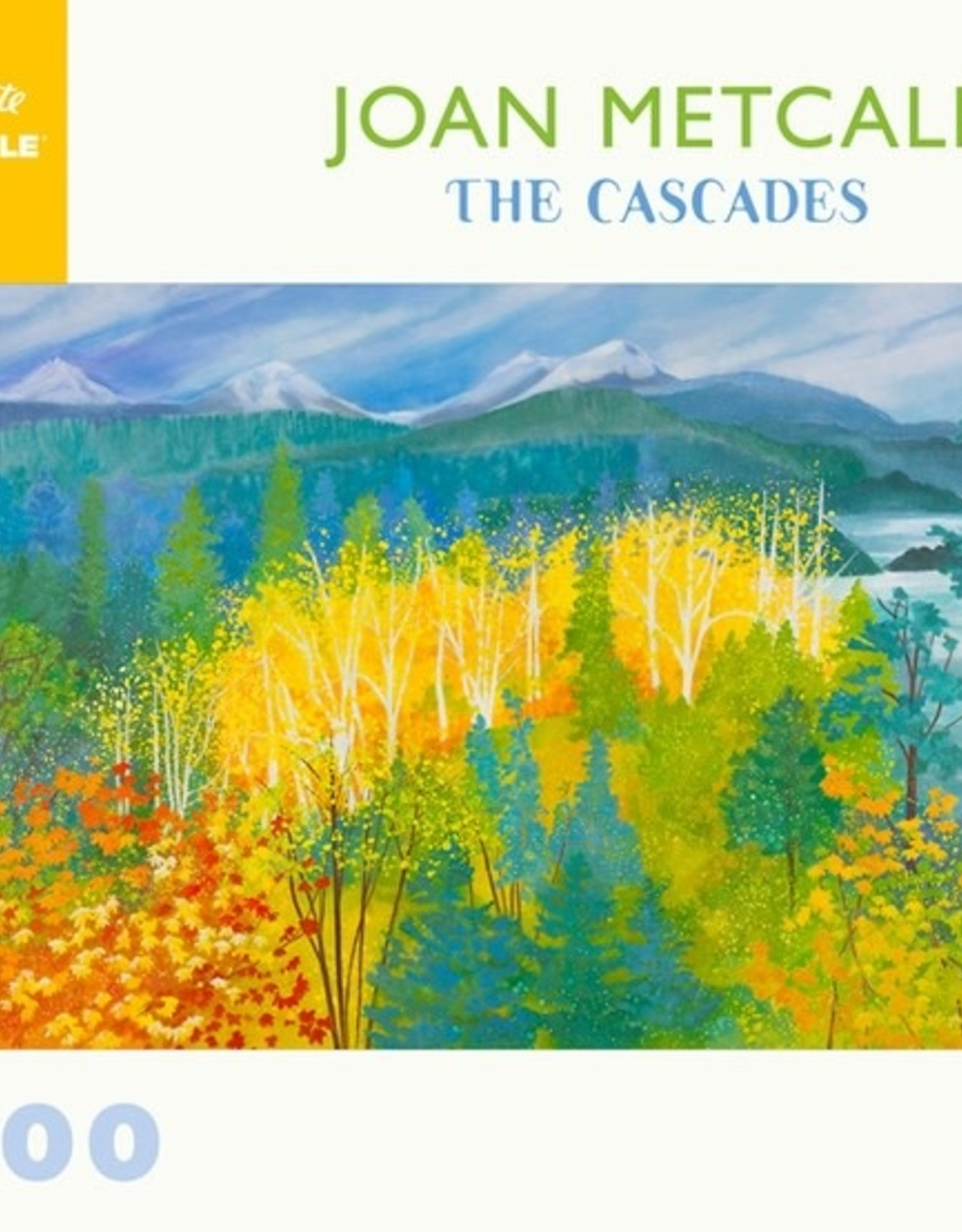 Pomegranate 1000 pc Joan Metcalf: The Cascades Puzzle