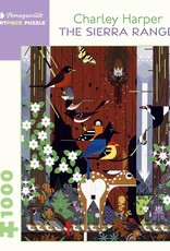 Pomegranate 1000 pc Charley Harper: The Sierra Range Puzzle