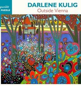 Pomegranate 1000 pc Darlene Kulig: Outside Vienna Puzzle