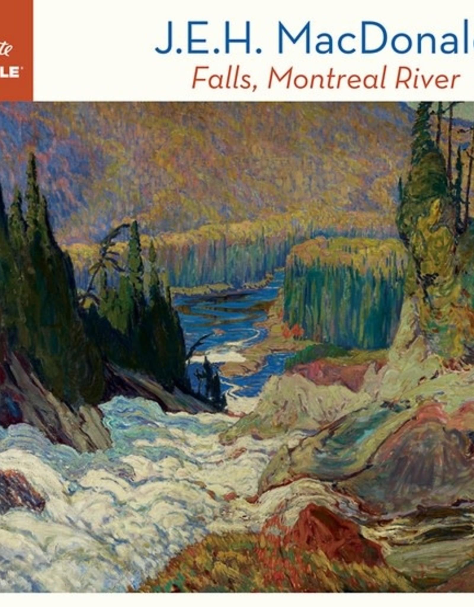 Pomegranate 1000 pc J.E.H. MacDonald: Falls, Montreal River Puzzle