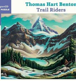 Pomegranate 1000 pc Thomas Hart Benton: Trail Riders Puzzle