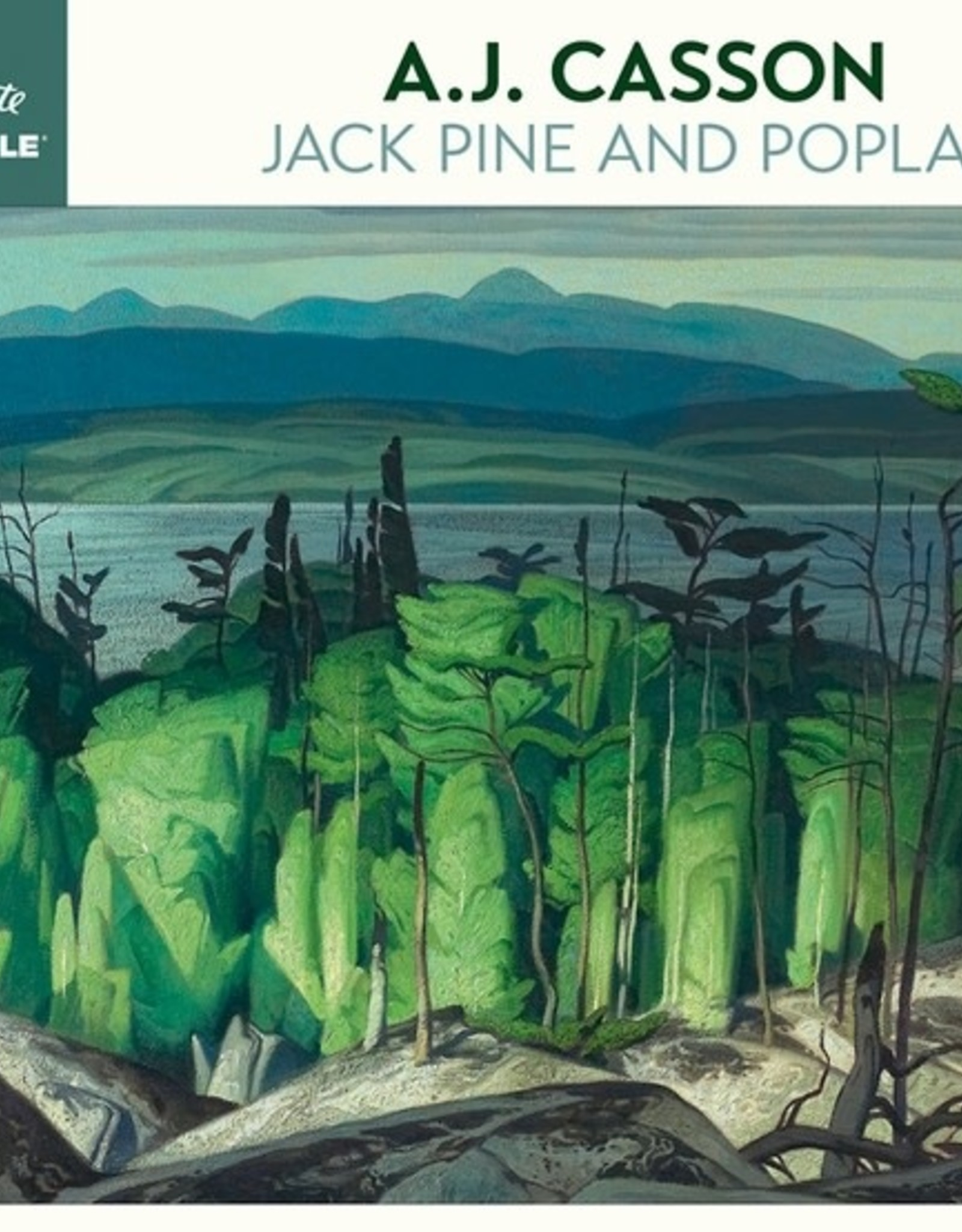 Pomegranate 1000 pc A.J. Casson: Jack Pine and Poplar Puzzle