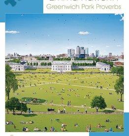 Pomegranate 1000 pc Emma Haworth: Greenwich Park Proverbs Puzzle