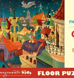 Pomegranate 48 pc Dany Paragouteva: Circus above the City Floor Puzzle