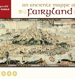 Pomegranate 1000 pc An Anciente Mappe of Fairyland Puzzle