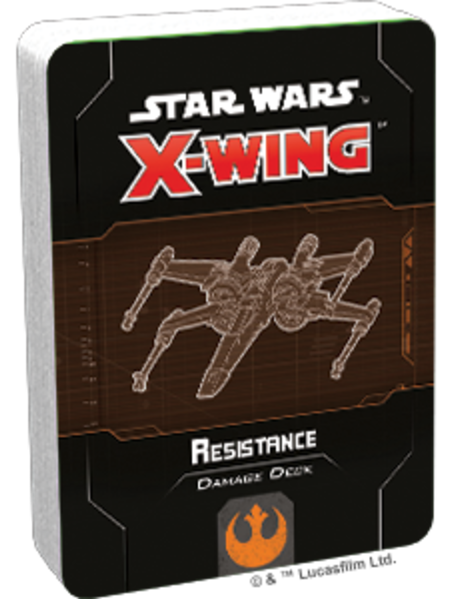 FFG Star Wars X-Wing 2.0: Resistance Damage Deck