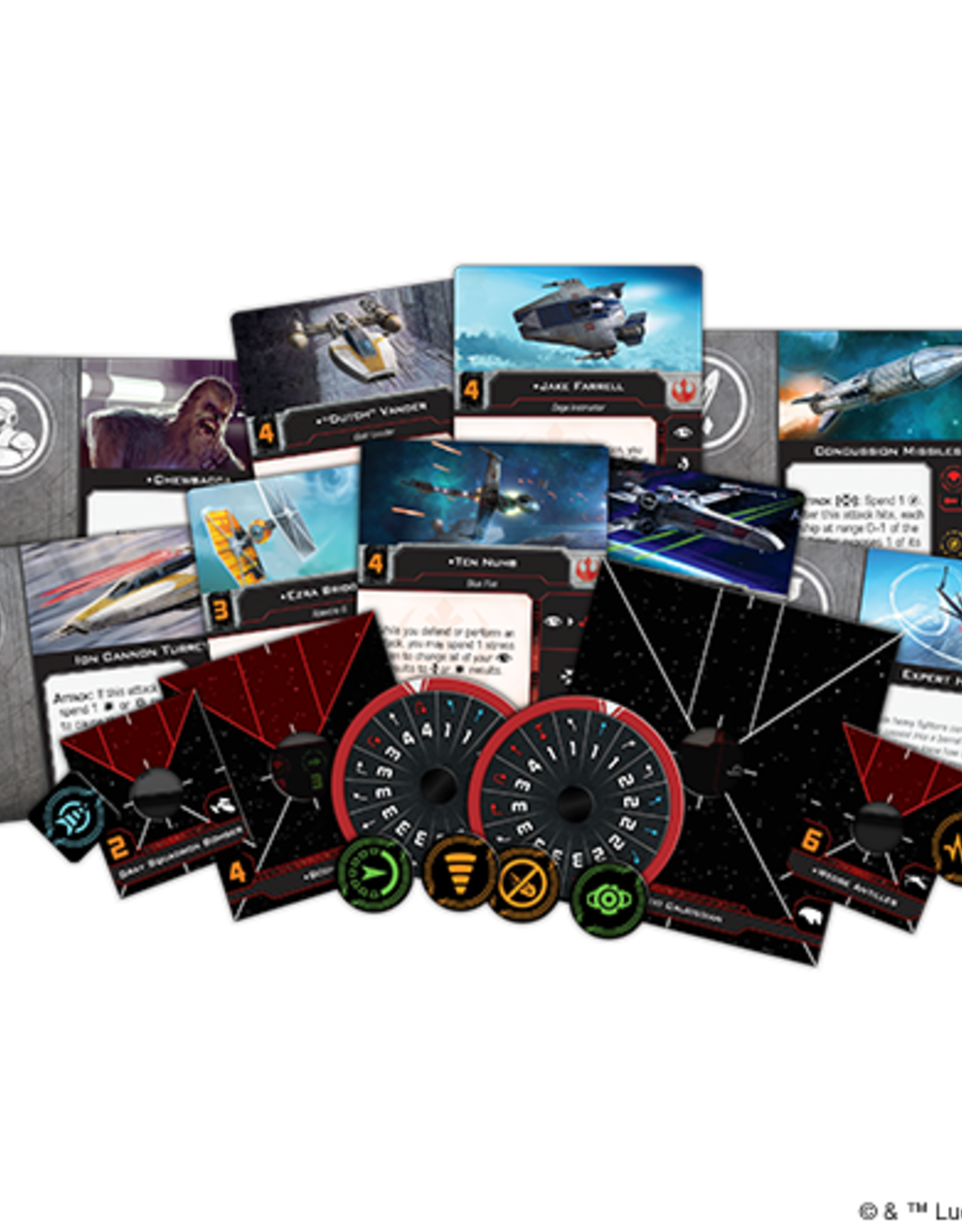 FFG Star Wars X-Wing 2.0: Rebel Alliance Conversion Kit