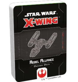 FFG Star Wars X-Wing 2.0 Miniatures Game: Rebel Alliance Damage Deck